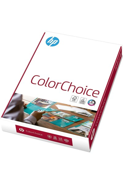 Hp A4 Gramajli Fotokopi Kağıdı 250 Gr Color Choice 250 Yp