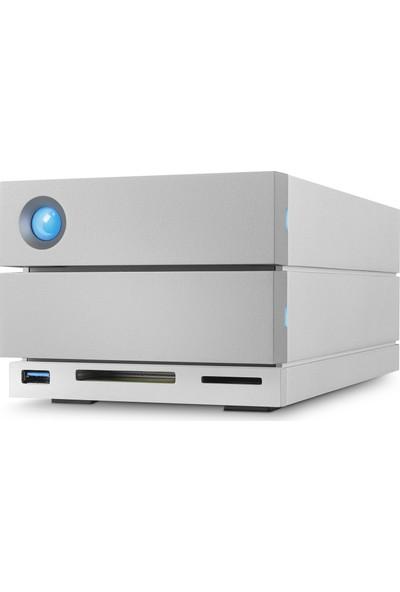 "Lacie STGB16000400 3.5"" 16TB 2Big Dock Station Thunderbolt3 & USB3.1 Raid Harici Disk"