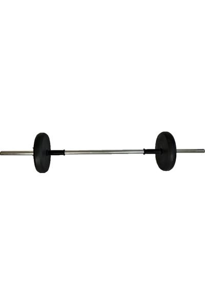 Powerbull Halter Seti 40 Kg Fitness Vücut Geliştirme Ağırlık Seti