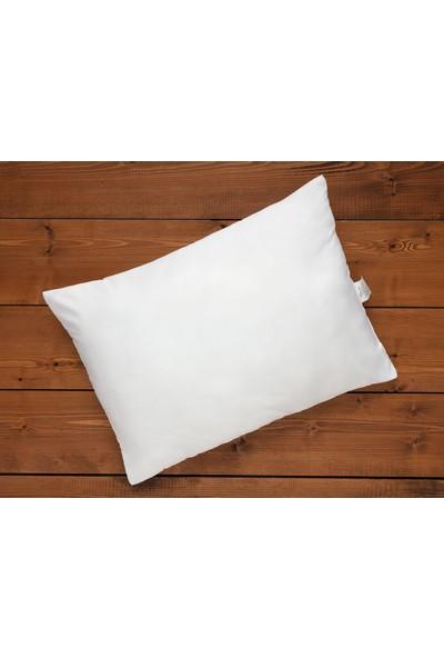 Madame Coco Micro Yastık - Beyaz - 50x70 cm