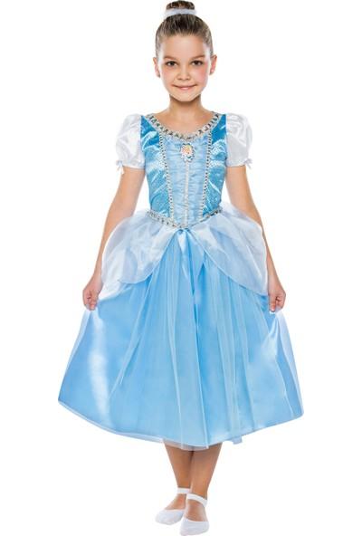 Disney Cinderella Butik Kostüm 7-9 Yaş