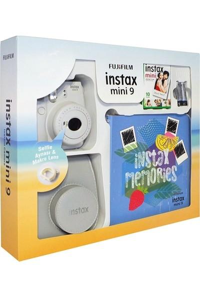 Fujifilm Instax Mini 9 Kit Beyaz Seri 2