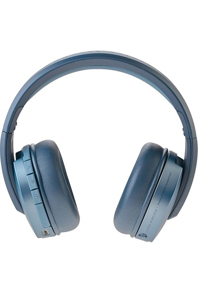 Focal Listen Chic Mavi Wireless Bluetooth Kulak Üstü Kulaklık