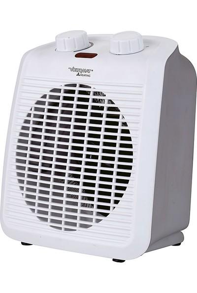 Volto 2000W Termostatlı Elektrikli Fanlı Isıtıcı