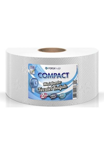 Compact Mini Jumbo Tuvalet Kağıdı 12'Lı Kolı