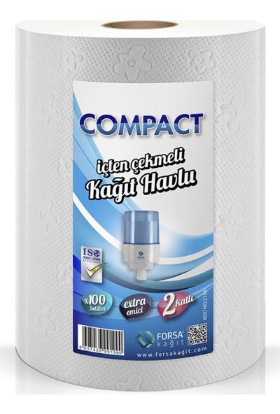 Compact İçten Çekme Havlu 6'Lı Kolı