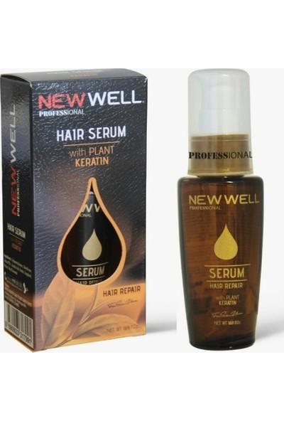 New Well Saş Serumu With Plant Keratin