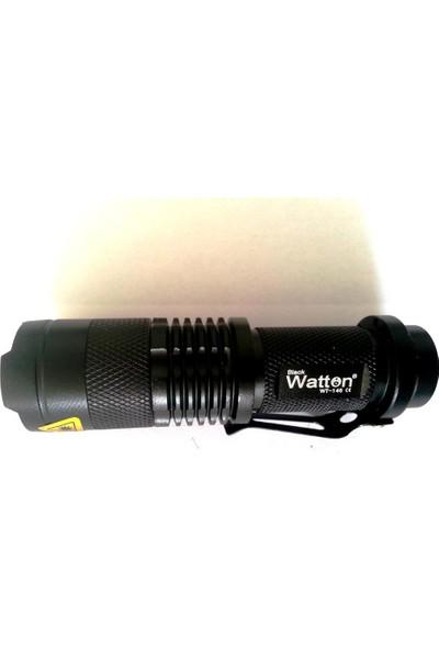 Watton Wt-146 En Küçük En Etkili Zoomlu El Feneri