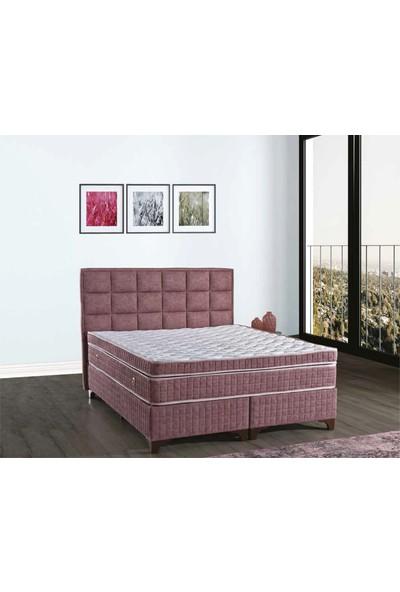 Sleep Comfort Sleep Rose Yatak Baza Başlık Set 90x190