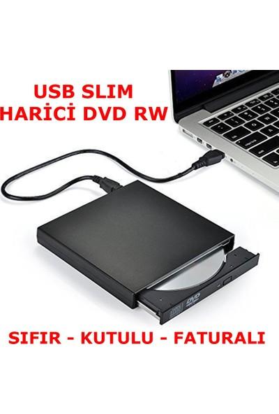 Booyse Slim External Taşınabilir 8X Usb DVD-RW