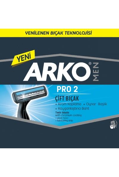 Arko Men T2 Pro Çift Bıçaklı Tıraş Bıçağı 5'li