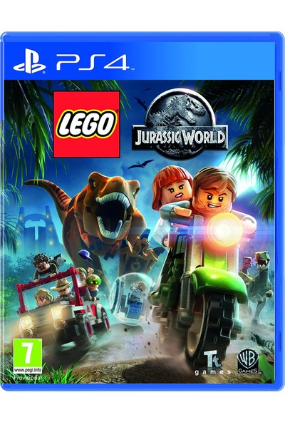 LEGO Jurassic World PS4 Oyun