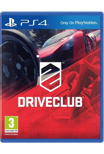 DriveClub PS4 Oyun-Türkçe Menü