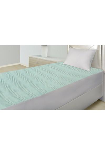 Abend® 5 Katlı Sıvı Geçirmez Yıkanabilir Yatak Koruyucu Emici Ped 90x190 cm