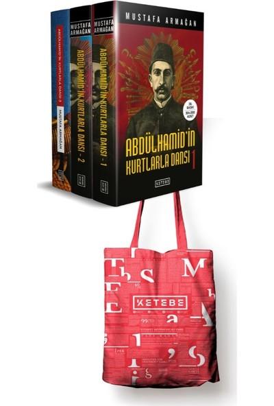 Abdülhamid'İn Kurtlarla Dansı Seti 3 Kitap (Çanta Hediyeli) - Mustafa Armağan