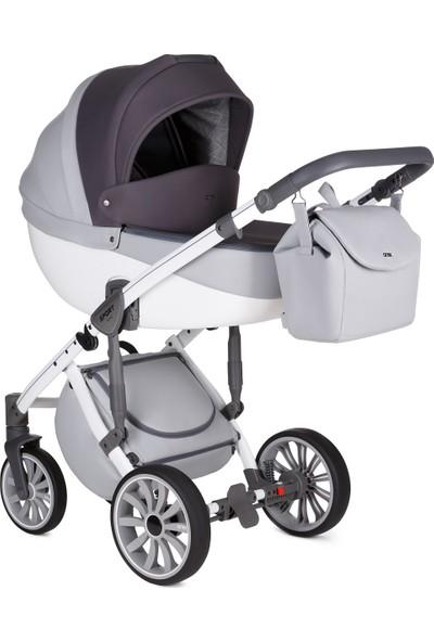 Anex® Sport 2'si 1 Arada Bebek Arabası Set - Gri