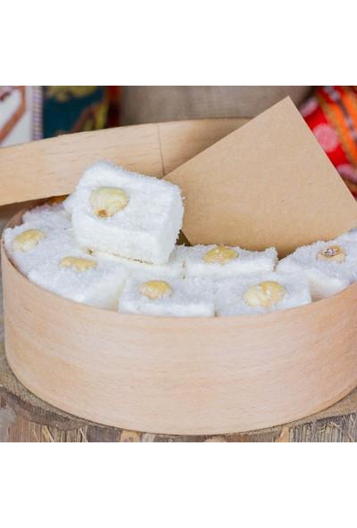 Gaziantepten Fındıklı Hindistan Cevizli Beyaz Lokum 500 gr