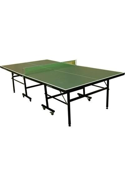 Mitsuka Play-G Yeşil Masa Tenis Masası + 2 raket + 3 Top ve Ağ Set HEDİYE!
