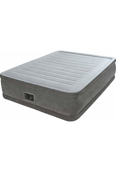 Intex Elektrik Comfort Plus Yüksek Yatak (152x203x46cm)- 64414