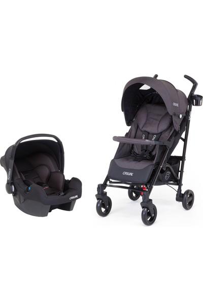 Casual Vista Trona Travel Sistem Bebek Arabası / Antrasit