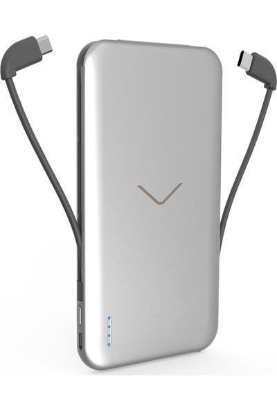 Vestel Taşınabilir Batarya 5000 mAh Type-C - Gümüş