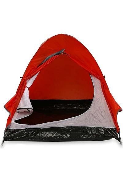 Upland Brabus 2 Kişilik Kamp Çadırı Kırmızı