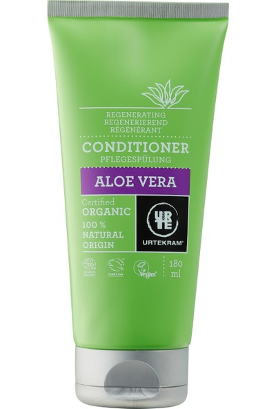 Urtekram Organik Canlandırıcı Saç Kremi - Aloe Vera, 180 ml