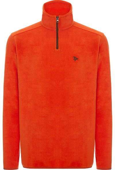 North İce Erkek 1/4 Fermuar Polar Sweat Shirt