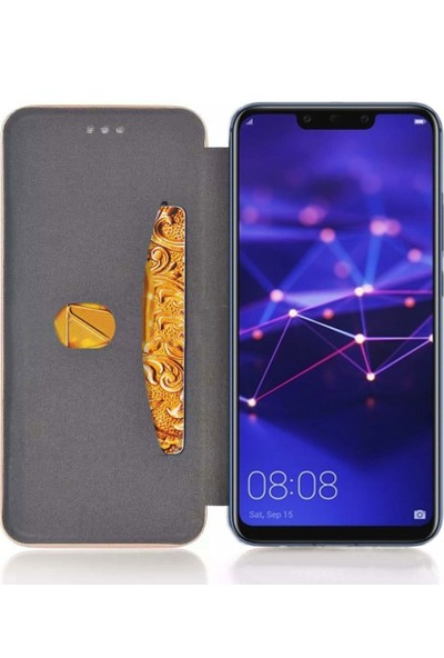 Smody Huawei Mate 20 Lite Kılıf Mıknatıs Kapaklı Standlı Cüzdan Lüx
