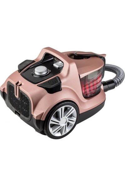 Fakir Veyron Turbo XL 750W Toz Torbasız Süpürge - Pembe
