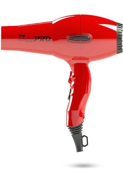 Etap Spectra Pro Profesyonel Seri Kuaför Fön Makinesi Kırmızı(İtalyan Motor)