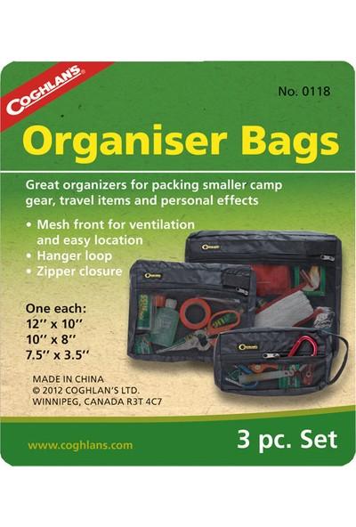 Coghlans Organizer Bags 3'lü