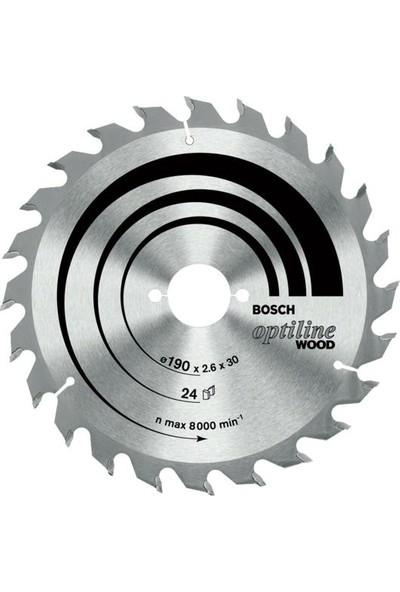 Bosch Optiline Daire Testere 190x20-16mm 48 Diş