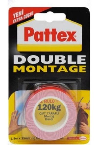 Pattex Double Montage Çift Taraflı Bant 120kg