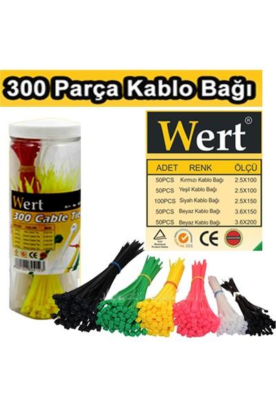 Wert W2430 Kablo Bağı Seti 300 Parça