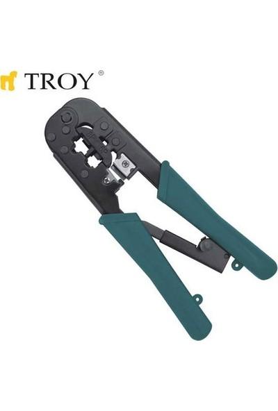 Troy T24008 Telefon ve Bilyasayar Soketi Sıkma Pensesi