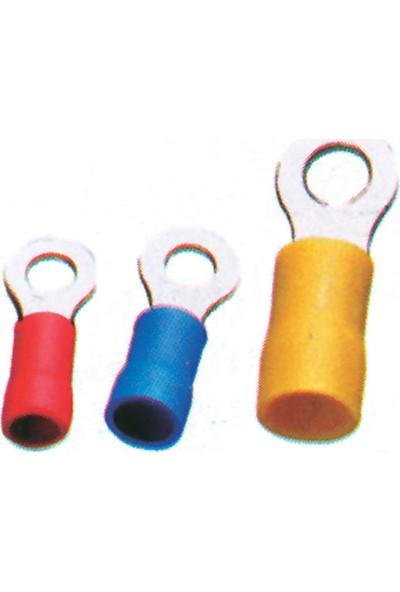 Sea Power Yuvarlak Kablo Ucu 0,25-1,15mm Kırmızı 50'li