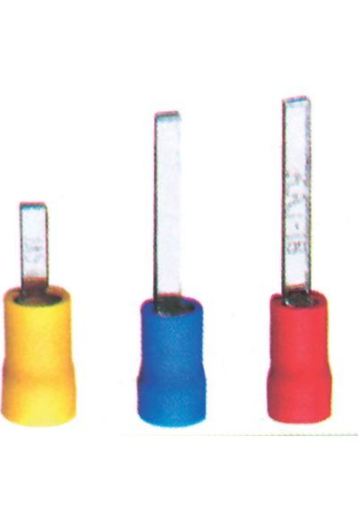 Sea Power İğne Tip Kablo Ucu Kırmızı 0,25-1,15mm 40'lı