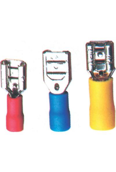 Sea Power Dişi Faston Sarı 2,5-6mm 25'li