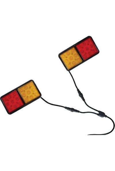 Lalizas Römork Lambası Seti Kablolu