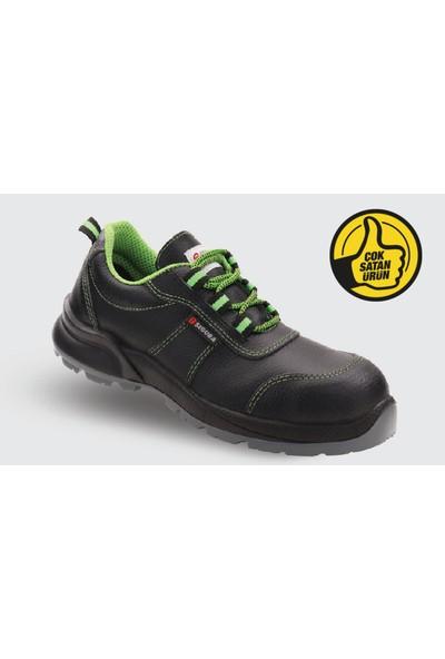 Segura Siyah Kışlık Bağcıklı Çelik Burunlu İş Ayakkabısı