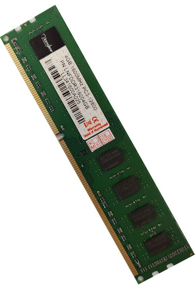Longlife 4GB DDR3 1333Mhz PC3-10600 CL9 Masaüstü Pc Ram (AMD İşlemcilere Özel) Lnfddr3A4Gb10600