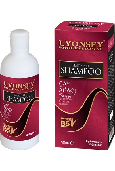 Lyonsey Professional Çay Ağacı Şampuanı