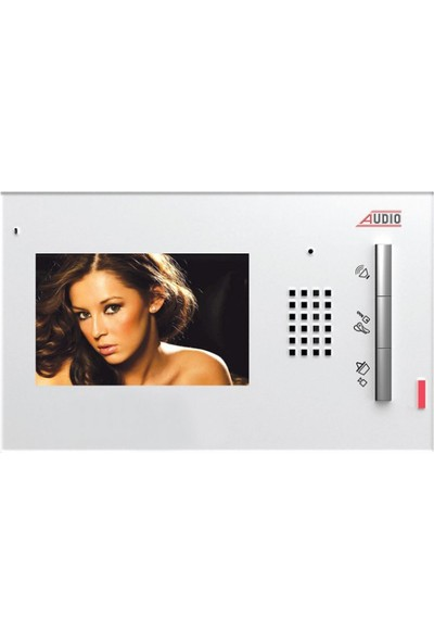 Audio Tekideal 16 Daire 4,3 İnç Görüntülü Diafon Sistemi Krem Kapaklı