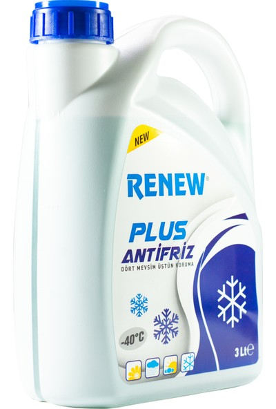 Renew Plus Yeşil Antifiriz -40C 3 Litre
