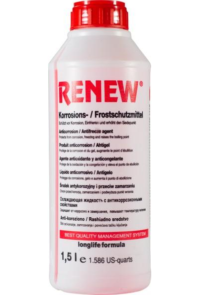 Renew Organik Kırmızı Antifiriz -40C 1,5 Litre
