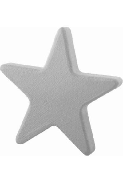 Kralkulp Yıldız Kulp Modeli, Bebek Ve Çocuk Odası Kulp 6 Adet Gri