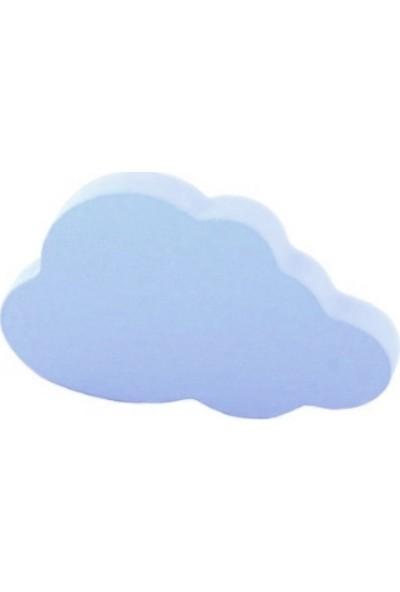 Kralkulp Bulut Kulp Modeli, Bebek Ve Çocuk Odası Kulp 4 Adet Bebek Mavisi