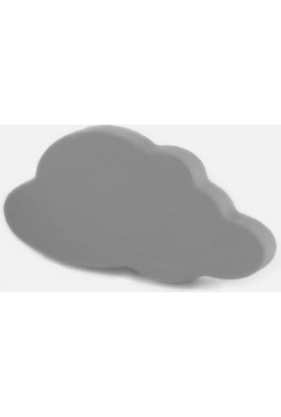 Kralkulp Bulut Kulp Modeli, Bebek Ve Çocuk Odası Kulp 6 Adet Gri