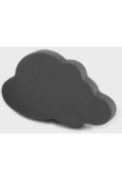 Kralkulp Bulut Kulp Modeli, Bebek Ve Çocuk Odası Kulp 6 Adet Siyah